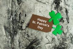 Счастливая предпосылка дня ` s St. Patrick Стоковые Изображения RF