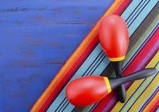 Счастливая предпосылка Cinco de Mayo Стоковое Изображение RF
