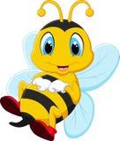 Счастливая пчела коробки Стоковые Изображения