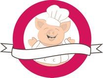 Счастливая свинья Стоковая Фотография