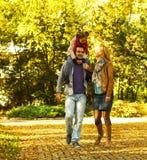Счастливая семья Стоковая Фотография RF