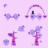 Счастливая семья иллюстрация вектора