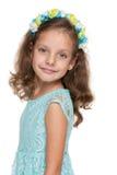 Счастливая симпатичная маленькая девочка Стоковая Фотография RF