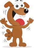Счастливая собака Стоковое Фото
