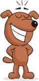 Счастливая собака иллюстрация вектора