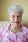 счастливая старшая женщина Стоковое Изображение