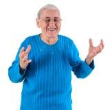 счастливая старшая женщина Стоковые Изображения