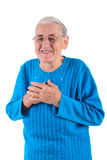 счастливая старшая женщина Стоковые Изображения RF