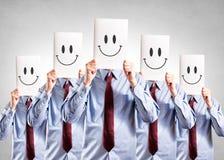 Счастливая сторона стоковые изображения rf