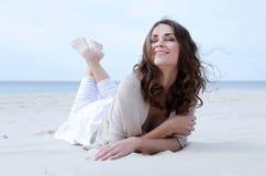счастливая сь женщина Стоковая Фотография
