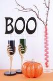 Счастливая таблица партии хеллоуина Стоковое Изображение RF