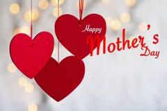 Счастливая тема дня ` s матери Стоковое Изображение RF