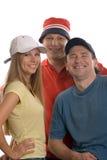 Счастливая троица Стоковая Фотография RF