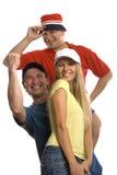 Счастливая троица Стоковое Изображение