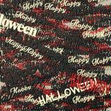 Счастливая фраза хеллоуина Бесплатная Иллюстрация