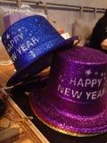 Счастливая шляпа Нового Года Стоковое Изображение