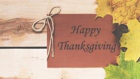 счастливое благодарение Официальный праздник в США в память первых колонистов Массачусетса Стоковые Изображения RF