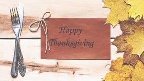 счастливое благодарение Официальный праздник в США в память первых колонистов Массачусетса Стоковое Изображение RF