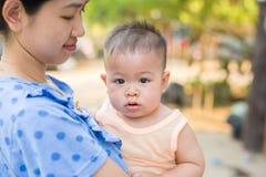Счастливое время младенца Стоковые Изображения RF