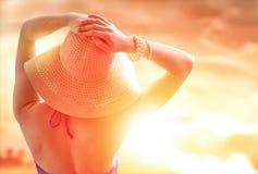 Счастливое лето Стоковые Изображения