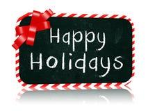 Счастливое знамя классн классного праздников с лентой Стоковые Фото
