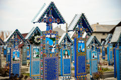 Счастливое кладбище Стоковое фото RF