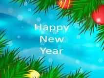 счастливое Новый Год звезды абстрактной картины конструкции украшения рождества предпосылки темной красные белые Стоковая Фотография RF