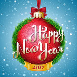 счастливое Новый Год иллюстрации Стоковая Фотография