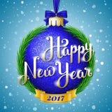 счастливое Новый Год иллюстрации Стоковое Изображение