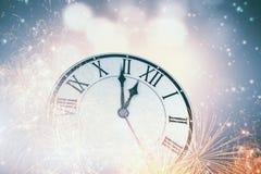 счастливое Новый Год Мультимедиа Стоковые Изображения