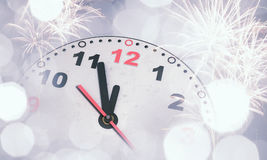 счастливое Новый Год Мультимедиа Стоковое Изображение RF