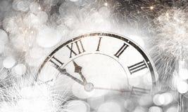 счастливое Новый Год Мультимедиа Стоковое Фото