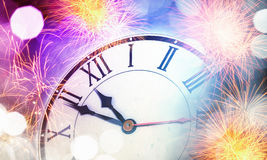 счастливое Новый Год Мультимедиа Стоковое фото RF