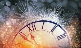 счастливое Новый Год Мультимедиа Стоковая Фотография RF