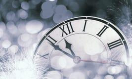 счастливое Новый Год Мультимедиа Стоковая Фотография