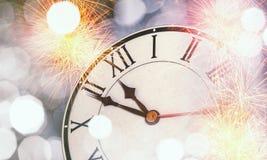 счастливое Новый Год Мультимедиа Стоковые Фотографии RF
