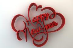 счастливое Новый Год Стоковые Изображения