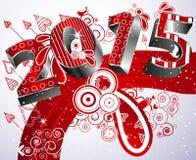 2011 счастливое Новый Год Стоковое Изображение RF