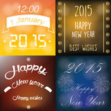 счастливое Новый Год Стоковые Изображения RF