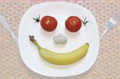 Счастливое питание Стоковая Фотография
