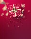 Счастливое приглашение партии Нового Года Стоковое Изображение RF