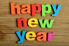 Счастливое слово Нового Года Стоковые Фотографии RF