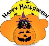 Счастливое украшение хеллоуина Стоковая Фотография