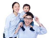 Счастливое фото группы семьи стоковое фото rf