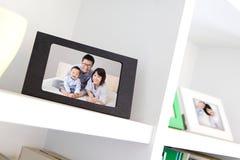 Счастливое фото семьи Стоковое фото RF