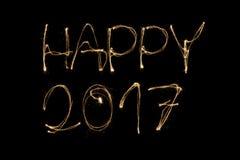 Счастливое 2017 Стоковые Фотографии RF