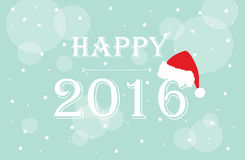 Счастливое 2016 Стоковые Фотографии RF