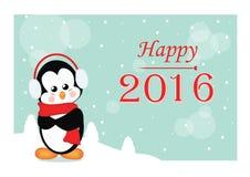Счастливое 2016 Стоковое фото RF