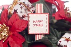 Счастливое backround рождества xmas Стоковые Фото