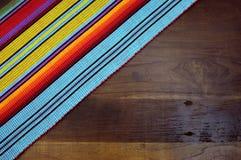 Счастливое Cinco de Mayo, 5-ое мая, предпосылка таблицы партии Стоковые Фотографии RF